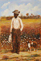 COTTON PICKER   ISAAC LOUISIANA  KIP HAYES AFRICAN