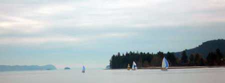 Sailing at Saltspring