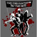 """Power Comes From Freedom That Power Hates 06"" by garmanf"