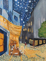 Street Scene (inspired by Van Gogh)