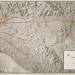 """1920 Relief_map_Pacific_Electric_Railway"" by"