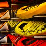 """Colorful Kayaks"" by raetucker"