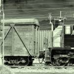 """freight train"" by lankin"