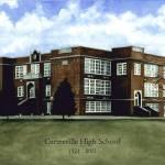 """""""Carterville High School"""" by carriewallerart"""