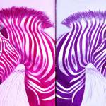 """Zebra Popart Pop Art Paintings"" by Spangles44"