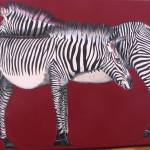 """Zebras Painting"" by Spangles44"