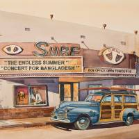 The Surf Theater Art Prints & Posters by Bill Drysdale