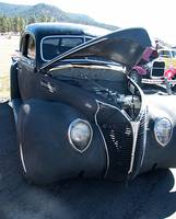 Gun Metal Gray 1938 Ford Deluxe V-8 8997
