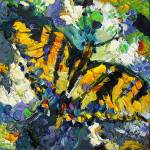 """Impressionist Swallowtail Butterfly"" by GinetteCallaway"