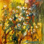 """""""Chamomille Oil Painting by Ginette Callaway"""" by GinetteCallaway"""