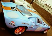 Gulf Ford GT40 - Brands Hatch - Masters Historical