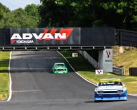 Ford Capri & BMW CSL - Brands Hatch - Masters Hist