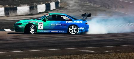 EP Racing Nissan 200sx Drift - BHP Show 2011 - Lyd