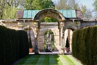 The gardens at Hever Castle