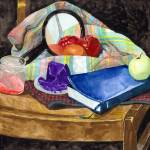 """Still Life With Bible & Mirror - Now we See Dimly"" by MarkOdland"