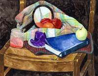 Still Life With Bible & Mirror - Now we See Dimly