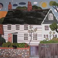 Night and Day, Monk's House, Rodmell Art Prints & Posters by amanda white