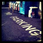 """""""no parking"""" by LookingGlassphotography"""