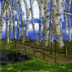 """The Birch Tree Road"" by mariawilliams"