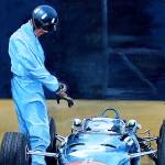 """Graham Hill BRM"" by pressman"