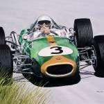 """""""Jack Brabham"""" by pressman"""