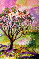 Grandmas Apple Tree Oil Painting