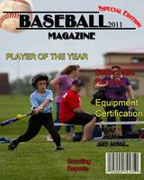 8x10 Baseball Magazine Cover