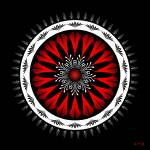 """Mandala No. 98"" by AlanBennington"