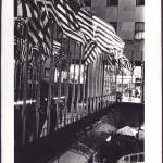 """Rockefeller Center flags"" by oldawnie"