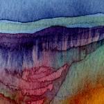 """""""Purple Hills #1 10 10 08.2"""" by achimkrasenbrinkart"""
