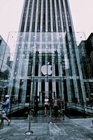 The Fifth Avenue Apple Store, New York City, USA