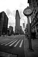 Flatiron Building & Clock, New York City, USA