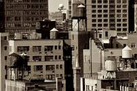 Water Towers of NY, New York City, USA