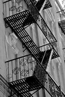 Fire Escapes of NY, New York, USA