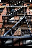 Fire Escape, New York City, USA