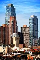 The Silver Towers, Hell's Kitchen, NY, USA