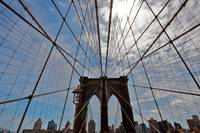 The Brooklyn Bridge, New York City,