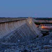 Mansfield Dam at Dusk Art Prints & Posters by Dave Thompson