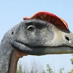 """Dinosaur Dilophosaurus."" by Piotr_Marcinski"