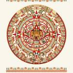 """Sun Stone of Tenochtitlan"" by CovingtonArt"