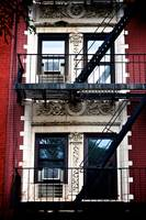 Fire Escapes of NY, New York City, US