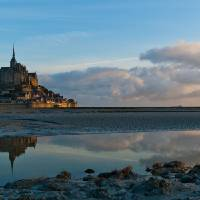 Le Mont Saint Michel Art Prints & Posters by Christian Muench