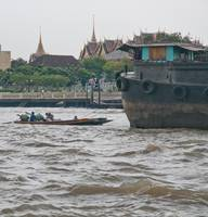 Traffic on the Chao Praya