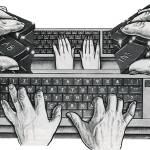 """""""Hands a typin"""