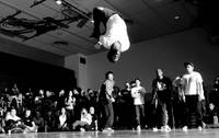 Breakdancing for charity at James Madison Universi
