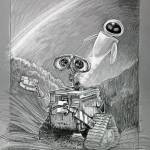 """WALL•E and EVE"" by paulshipper"