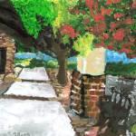 """Derek Tang 10- Summer of  Norcross Downtown"" by sabahkinderart"