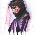"""Isaiah 53:5 ""My Savior"""" by berreyart"