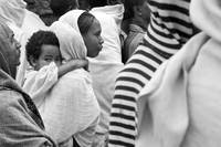 Mother and Child in Lalibela