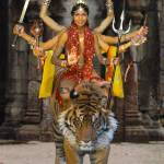 """The Hindu Godess Durga"" by LoganStrange"